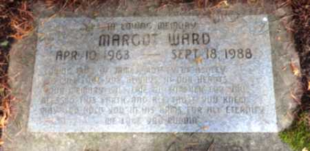 WARD, MARGOT - Washington County, Oregon | MARGOT WARD - Oregon Gravestone Photos