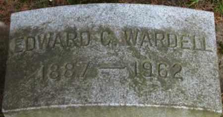 WARDELL, EDWARD C. - Washington County, Oregon   EDWARD C. WARDELL - Oregon Gravestone Photos