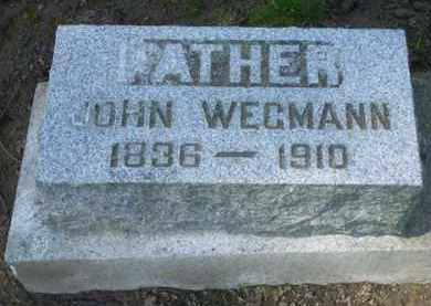 WEGMANN, JOHN - Washington County, Oregon | JOHN WEGMANN - Oregon Gravestone Photos