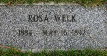 WELK, ROSA - Washington County, Oregon | ROSA WELK - Oregon Gravestone Photos
