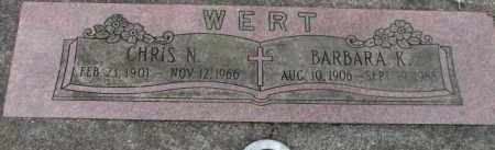 WERT, BARBARA K. - Washington County, Oregon | BARBARA K. WERT - Oregon Gravestone Photos