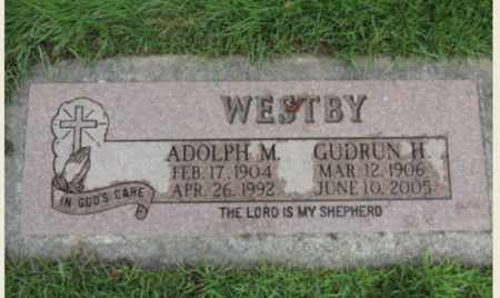 WESTBY, ADOLPH M - Washington County, Oregon | ADOLPH M WESTBY - Oregon Gravestone Photos