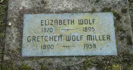 WOLF, GRETCHEN - Washington County, Oregon | GRETCHEN WOLF - Oregon Gravestone Photos