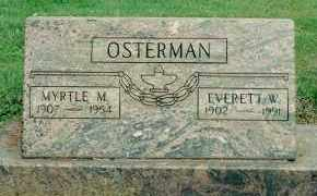 OSTERMAN, EVERETT WILHELM - Yamhill County, Oregon | EVERETT WILHELM OSTERMAN - Oregon Gravestone Photos