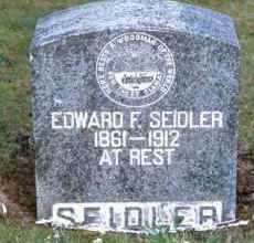 SEIDLER, EDWARD FREDERICK - Yamhill County, Oregon | EDWARD FREDERICK SEIDLER - Oregon Gravestone Photos