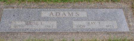 CHISHOLM ADAMS, KATIE IRENE - Yamhill County, Oregon   KATIE IRENE CHISHOLM ADAMS - Oregon Gravestone Photos