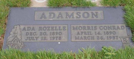 ADAMSON, ADA ZULLA - Yamhill County, Oregon | ADA ZULLA ADAMSON - Oregon Gravestone Photos