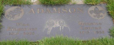 KINGSRITER ADAMSON, NINA LORRAINE - Yamhill County, Oregon | NINA LORRAINE KINGSRITER ADAMSON - Oregon Gravestone Photos