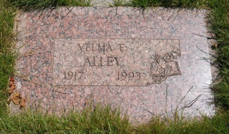 ALLEY, VELMA ELAINE - Yamhill County, Oregon   VELMA ELAINE ALLEY - Oregon Gravestone Photos