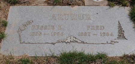 ARTHUR, BESSIE ELLEN - Yamhill County, Oregon | BESSIE ELLEN ARTHUR - Oregon Gravestone Photos