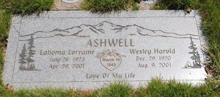 ASHWELL, LAHOMA LORRAINE - Yamhill County, Oregon | LAHOMA LORRAINE ASHWELL - Oregon Gravestone Photos