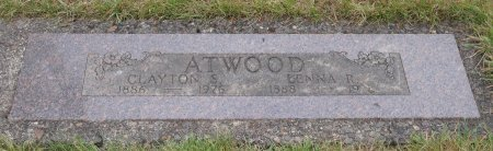 ATWOOD, LENNA RUBY - Yamhill County, Oregon   LENNA RUBY ATWOOD - Oregon Gravestone Photos