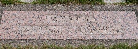 AYRES, CHARLES EDWARD - Yamhill County, Oregon | CHARLES EDWARD AYRES - Oregon Gravestone Photos