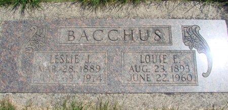 BACCHUS, LUCINDA ESTELLE - Yamhill County, Oregon   LUCINDA ESTELLE BACCHUS - Oregon Gravestone Photos