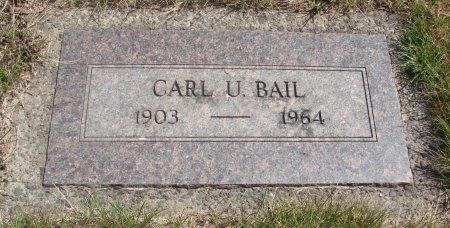 BAIL, CARL U - Yamhill County, Oregon   CARL U BAIL - Oregon Gravestone Photos