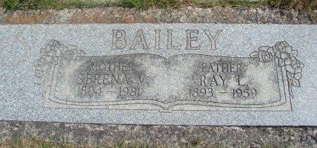 BAILEY, SERENA - Yamhill County, Oregon   SERENA BAILEY - Oregon Gravestone Photos