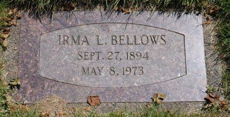 SYRON BELLOWS, IRMA LAVETA - Yamhill County, Oregon | IRMA LAVETA SYRON BELLOWS - Oregon Gravestone Photos