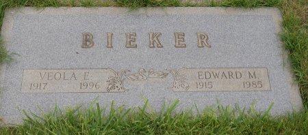 BUSK BIEKER, VEOLA EMMA - Yamhill County, Oregon | VEOLA EMMA BUSK BIEKER - Oregon Gravestone Photos