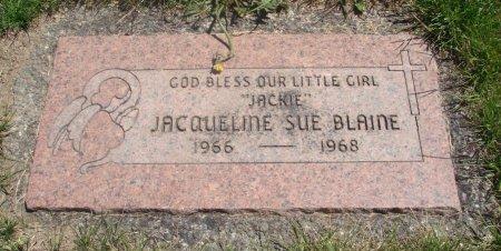 BLAINE, JACQUELINE SUE - Yamhill County, Oregon   JACQUELINE SUE BLAINE - Oregon Gravestone Photos