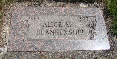 THUN BLANKENSHIP, ALICE MARY - Yamhill County, Oregon | ALICE MARY THUN BLANKENSHIP - Oregon Gravestone Photos