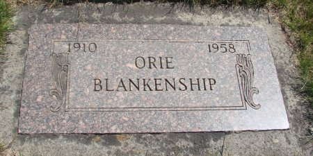 BLANKENSHIP, ORION CLARE - Yamhill County, Oregon | ORION CLARE BLANKENSHIP - Oregon Gravestone Photos