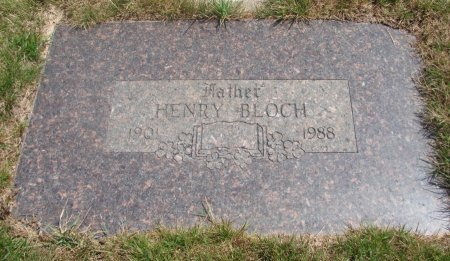 BLOCH, HENRY ALBERT - Yamhill County, Oregon | HENRY ALBERT BLOCH - Oregon Gravestone Photos
