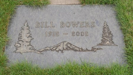 BOWERS, WILLIAM DELOIS - Yamhill County, Oregon | WILLIAM DELOIS BOWERS - Oregon Gravestone Photos