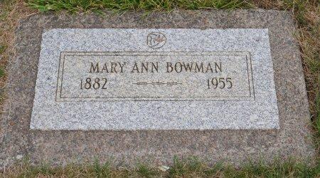 GARRETT BOWMAN, MARY ANN - Yamhill County, Oregon | MARY ANN GARRETT BOWMAN - Oregon Gravestone Photos