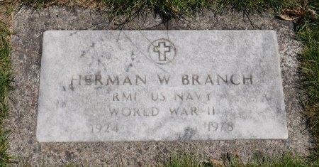 BRANCH, HERMAN W - Yamhill County, Oregon | HERMAN W BRANCH - Oregon Gravestone Photos