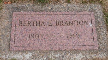 BRANDON, BERTHA EMILY - Yamhill County, Oregon | BERTHA EMILY BRANDON - Oregon Gravestone Photos