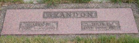 BRANDON, HARRY PATRICK - Yamhill County, Oregon | HARRY PATRICK BRANDON - Oregon Gravestone Photos