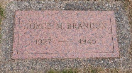 BRANDON, JOYCE MAE - Yamhill County, Oregon   JOYCE MAE BRANDON - Oregon Gravestone Photos