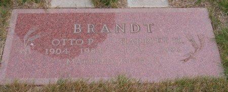 BRANDT, HARRIET H - Yamhill County, Oregon   HARRIET H BRANDT - Oregon Gravestone Photos