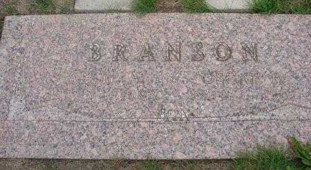 BRANSON, ALLIE ARNOLIA - Yamhill County, Oregon | ALLIE ARNOLIA BRANSON - Oregon Gravestone Photos