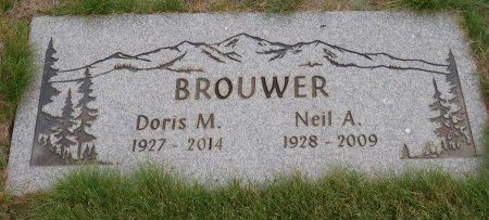 BROUWER, DORIS M - Yamhill County, Oregon | DORIS M BROUWER - Oregon Gravestone Photos