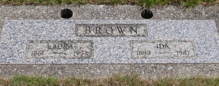 BROWN, LAURA J - Yamhill County, Oregon | LAURA J BROWN - Oregon Gravestone Photos