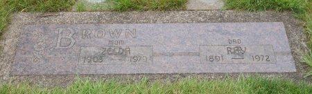 BROWN, RAY ISAAC - Yamhill County, Oregon   RAY ISAAC BROWN - Oregon Gravestone Photos