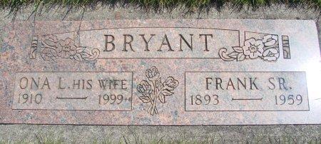 BRYANT, BENJAMIN F SR - Yamhill County, Oregon | BENJAMIN F SR BRYANT - Oregon Gravestone Photos