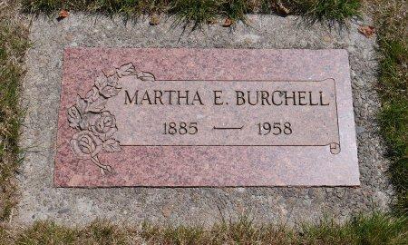 HUDSON BURCHELL, MARTHA EVELYN - Yamhill County, Oregon   MARTHA EVELYN HUDSON BURCHELL - Oregon Gravestone Photos