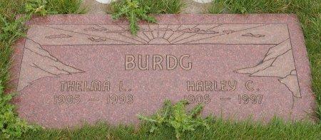 WARNER BURDG, THELMA LORENE - Yamhill County, Oregon   THELMA LORENE WARNER BURDG - Oregon Gravestone Photos