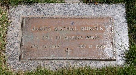 BURGER, JAMES MICHAL - Yamhill County, Oregon   JAMES MICHAL BURGER - Oregon Gravestone Photos