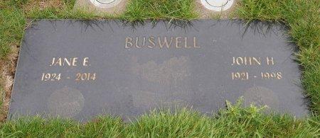 BUSWELL, JOHN HENRY - Yamhill County, Oregon | JOHN HENRY BUSWELL - Oregon Gravestone Photos