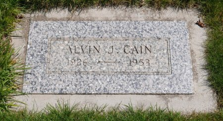 CAIN, ALVIN JAMES - Yamhill County, Oregon   ALVIN JAMES CAIN - Oregon Gravestone Photos