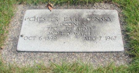 CENSKY, CHESTER EARL - Yamhill County, Oregon | CHESTER EARL CENSKY - Oregon Gravestone Photos