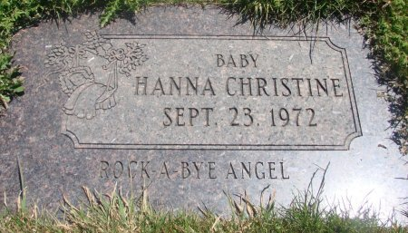 CHRISTINE, HANNA - Yamhill County, Oregon | HANNA CHRISTINE - Oregon Gravestone Photos