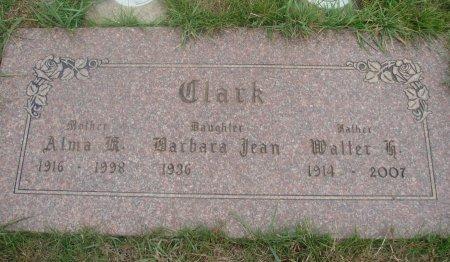 CLARK, WALTER H - Yamhill County, Oregon | WALTER H CLARK - Oregon Gravestone Photos
