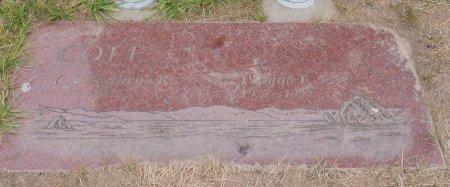 COLE, WAYNE T - Yamhill County, Oregon | WAYNE T COLE - Oregon Gravestone Photos