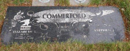TIEDEMANN COMMERFORD, ELIZABETH SOPHIA - Yamhill County, Oregon | ELIZABETH SOPHIA TIEDEMANN COMMERFORD - Oregon Gravestone Photos