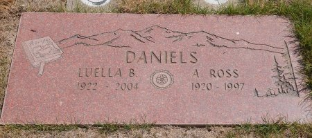 DANIELS, LUELLA BELL - Yamhill County, Oregon | LUELLA BELL DANIELS - Oregon Gravestone Photos