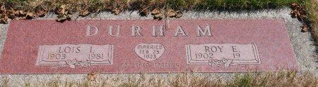 DURHAM, ROY EDWARD - Yamhill County, Oregon | ROY EDWARD DURHAM - Oregon Gravestone Photos